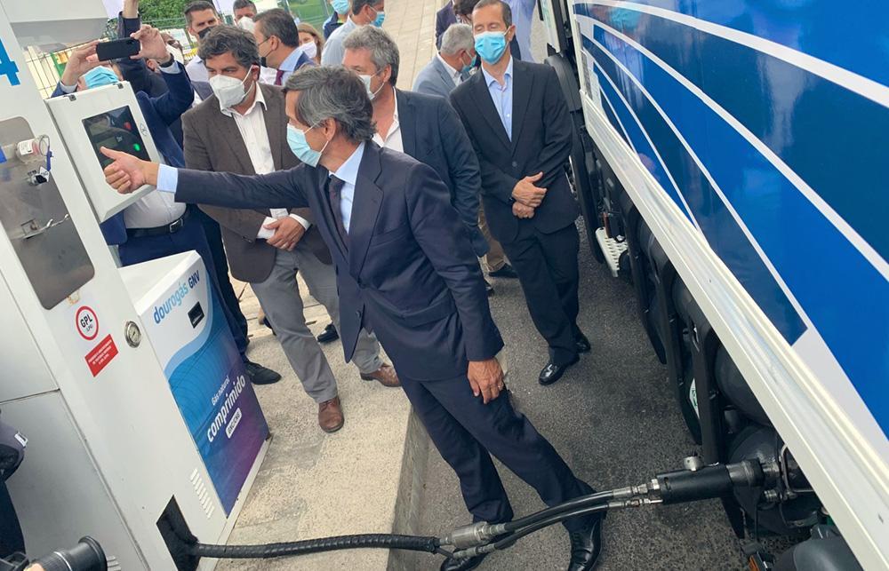 Dourogás GNV inaugurou primeiro posto de biogás em Portugal